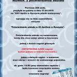 regulamin konkurs numery na dyplomie